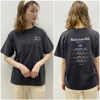 one after another NICE CLAUP - NICE  CLAUP【今季新品】完売!BackハンバーガープリントTシャツ