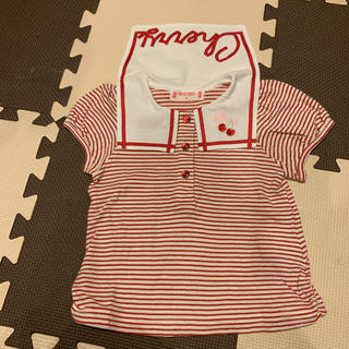 mezzo piano - メゾピアノ Tシャツ 90