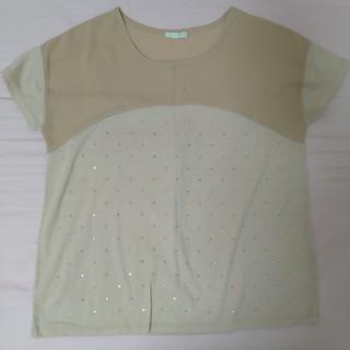 ジーユー(GU)のキラキラTシャツ(Tシャツ(半袖/袖なし))