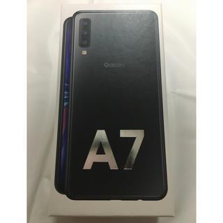 Galaxy - Galaxy A7 64GB SIMフリー/ブラック/楽天/送料無料