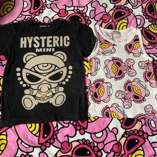 ヒステリックミニ(HYSTERIC MINI)の🐻テディ Tシャツᵃⁿᵈタンクトップ🎀🎀🎀🎀(Tシャツ/カットソー)