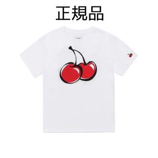 スタイルナンダ(STYLENANDA)の新品 KIRSH キルシー Tシャツ 白 ホワイト さくらんぼ  チェリー(Tシャツ(半袖/袖なし))