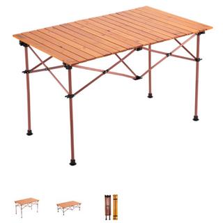 コールマン(Coleman)の新品未使用 コールマン ナチュラルウッドロールテーブル クラシック(110)(テーブル/チェア)