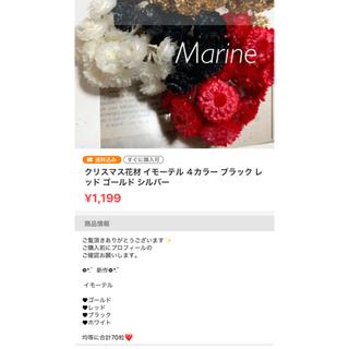 夏カラー ポアプランツ パイナップルカラー 12本 ハーバリウム花材(ドライフラワー)