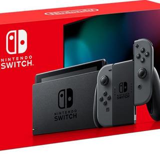 Nintendo Switch - 新型 Nintendo Switch 本体 Joy-Con(L)/(R) グレー
