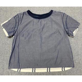ジーユー(GU)のGU キムジョーンズコラボ トップス Mサイズ(Tシャツ/カットソー(半袖/袖なし))