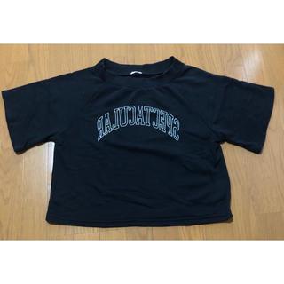 ジーユー(GU)のトップス シャツ 半袖 ゆったり 大きめ(Tシャツ/カットソー(半袖/袖なし))