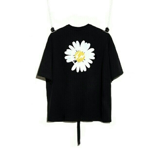 ピースマイナスワン(PEACEMINUSONE)のPEACEMINUSONE x 藤原浩 ゆったりTシャツ ブラク(Tシャツ/カットソー(半袖/袖なし))