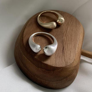 イエナスローブ(IENA SLOBE)のopen ring♡⦅silver⦆(リング(指輪))