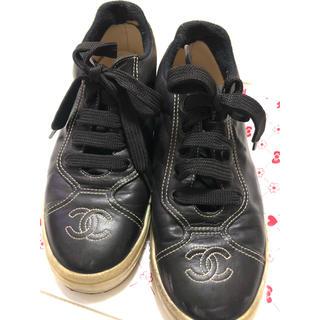 シャネル(CHANEL)のシャネル レザーシューズ (ローファー/革靴)