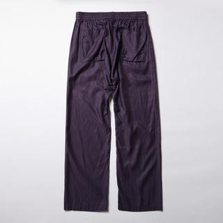 サンシー(SUNSEA)のURU(ウル)/COTTON CUPRA EASY PANTS/Purple(スラックス)