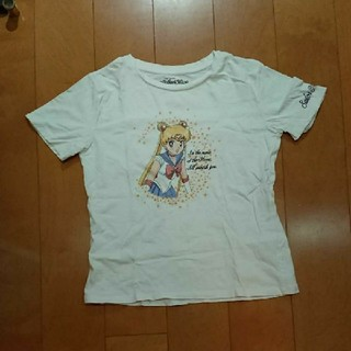 ジーユー(GU)のセーラームーンGU(Tシャツ(半袖/袖なし))