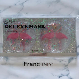 フランフラン(Francfranc)のフランフラン ジェルアイマスク フラミンゴ 1枚(その他)