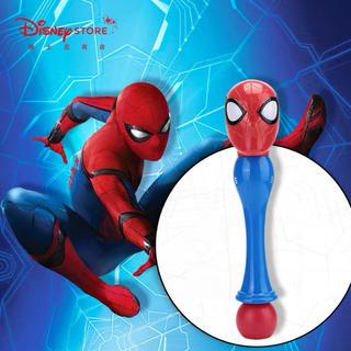 マーベル(MARVEL)のmarvel スパイダーマン シャボン玉メーカー 海外ディズニー限定(キャラクターグッズ)