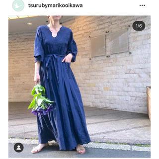 ツルバイマリコオイカワ(TSURU by Mariko Oikawa)のtsuru by mariko oikawa カシュクールワンピース(ロングワンピース/マキシワンピース)
