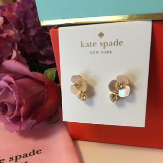 kate spade new york - 【新品¨̮♡︎】ケイトスペード ディスコパンジー ドロップピアス