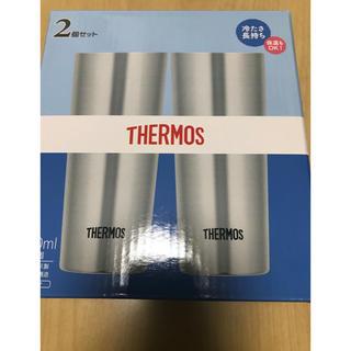 サーモス(THERMOS)のサーモス 真空断熱2個セット 400ml ステンレス JDI-400P S(タンブラー)