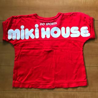 ミキハウス(mikihouse)のミキハウス 80 Tシャツ 赤 男女兼用可(Tシャツ)