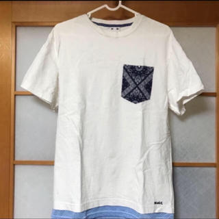 エックスガール(X-girl)の重ね着風 Tシャツ(Tシャツ(半袖/袖なし))