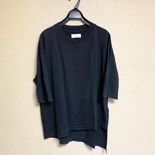 ラッドミュージシャン(LAD MUSICIAN)のLuis ルイス アシンメトリービッグTシャツ(Tシャツ/カットソー(半袖/袖なし))