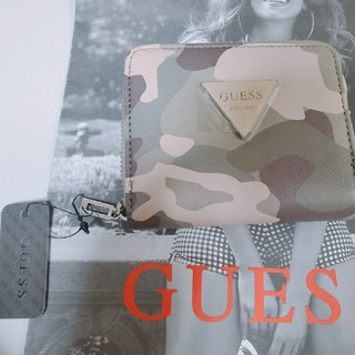 【大人気】GUESS ゲス 財布 カモフラージュ 迷彩柄 ♡(長財布)