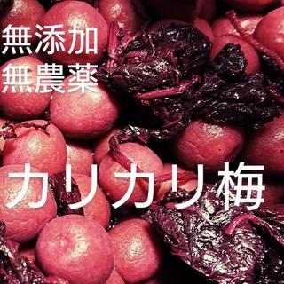 梅干し  無添加無農薬カリカリ梅  500g(漬物)