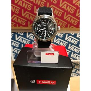 タイメックス(TIMEX)の新品タイメックスTIMEXキャンパー 黒スチール(腕時計(アナログ))