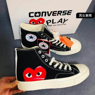 Play COMME des GARCONS×Converse  男女兼用