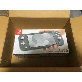 任天堂 - 【新品未開封】Nintendo Switch Lite グレー本体