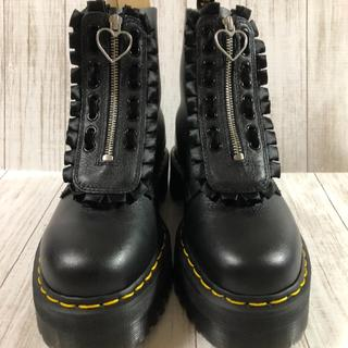 ドクターマーチン(Dr.Martens)の美品 JUNGLE BT LO 超厚底ダブルソール フロントジップ(ブーツ)