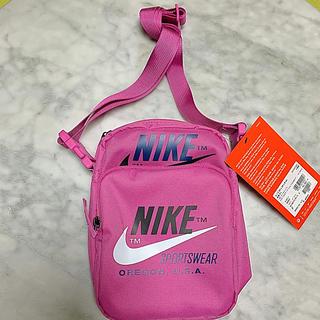 ナイキ(NIKE)のナイキ ショルダーバッグ ピンク 新品未使用タグ付き(ショルダーバッグ)