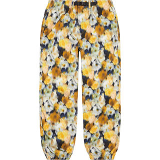 Supreme - 未開封 L Liberty Floral Belted Pant Yellow
