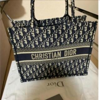 Christian Dior - スモール    ネイビー トート