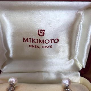 ミキモト(MIKIMOTO)のミキモトパール(イヤリング)