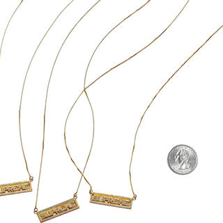 シュプリーム(Supreme)のSupreme 20ss 14k Gold pendant(ネックレス)