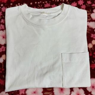 ジーユー(GU)のGU 白Tシャツ 無地(Tシャツ(半袖/袖なし))
