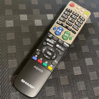 SHARP - シャープ テレビ リモコン gb007wjsa