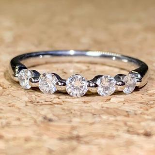 エタニティリング ダイヤ0.30カラット プラチナ ダイヤモンドリング