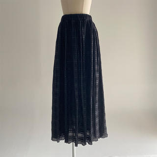BEAUTY&YOUTH UNITED ARROWS - 【la Balance】Sheer Border Skirt