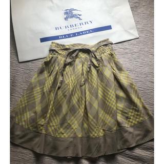 バーバリーブルーレーベル(BURBERRY BLUE LABEL)の【BURBERRY BLUE LABEL】バーバリーブルーレーベル ♡スカート(ミニスカート)