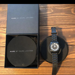 MARC BY MARC JACOBS - 腕時計 Marc By Marc Jacobs  黒 マークジェイコブス