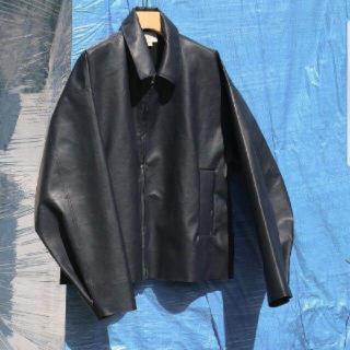 yoke so john 別注Faux Leather Jacket