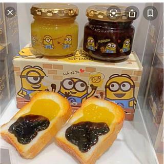 ユニバーサルスタジオジャパン(USJ)のミニオン スプレッドチョコ&バナナ(菓子/デザート)