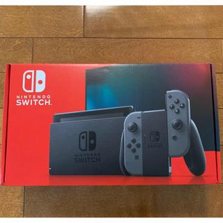 Nintendo Switch - ニンテンドースイッチ 本体 グレー 新品未開封