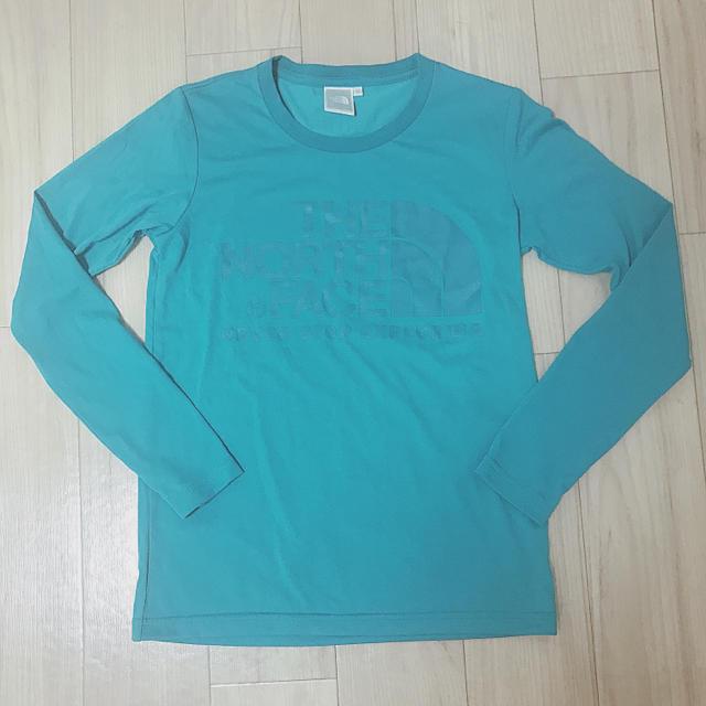 THE NORTH FACE(ザノースフェイス)のカットソー インナー ロンT ノースフェイス グリーン 緑 S レディースのトップス(Tシャツ(長袖/七分))の商品写真