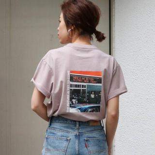 Ungrid - 完売【新品】Ungrid カラーフォトTee Tシャツ 再入荷