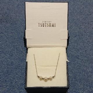 JEWELRY TSUTSUMI - ジュエリーツツミ K10 パール 真珠 淡水パール ネックレス