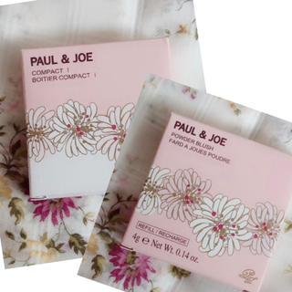 PAUL & JOE - 【新品未使用】Paul & JOE✩.*˚チークコンパクトアンドレフィル