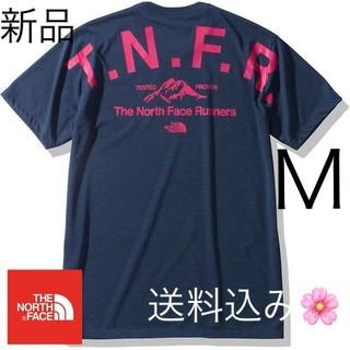 THE NORTH FACE - 送料無料!Mサイズ ノースフェイス Tシャツ ブルー NT32091