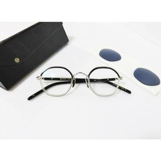 アヤメ(Ayame)の新品 ayame HEX ブラック クリア 日本製 ユニセックス (サングラス/メガネ)